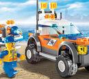 7737 Le 4x4 et le scooter des mers des garde-côtes