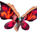 Burning Mothra