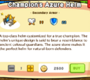 Champion's Azure Helm