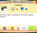 Azure Champion Belt