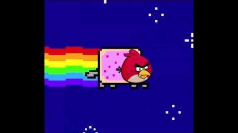 Angry Birds Nyan Cat