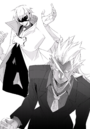 BlazBlue Bloodedge Experience Part 1 (Black and white illustration, 4).png