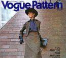 Vogue International Pattern Book October/November 1970
