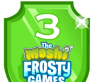 Frosty Games Emerald Plaque