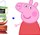 Peppa and the Apple Juice