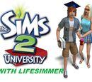 The Sims 2 University LP (Marilyn and Aubrey Ashwood)
