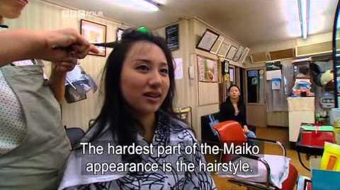 BBC Geisha Girl Documentary (2005)