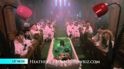 Heathers Funeral Scene