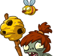 Beehive Thrower Zombie
