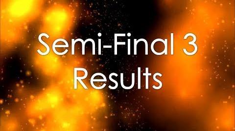 OESC 29, Semi-Final 3 (Results)