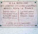 Mémoire Cyclistes Dijonais