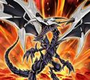 Dragon Noir aux Yeux Rouges Corrompu