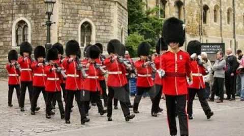 The British Grenadier march