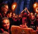 La secta satánica y el bebé