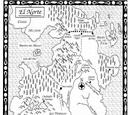Festín de Cuervos-Mapa El Norte