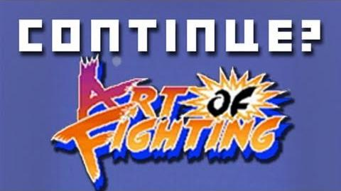 Art of Fighting (SNES) - Continue?