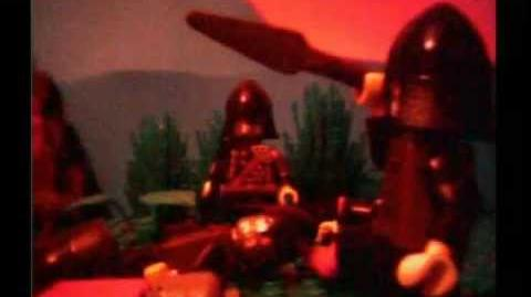 Brickfilm LEGO feature length film 'The Wars of Darkness Part 2'