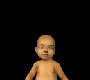 Unborn baby Monty