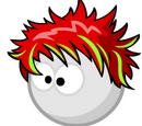 Причёска «Огонь»
