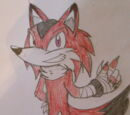 Reddhart the Red Wolf