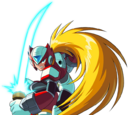 Mega Man Zero Characters