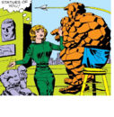 Alicia Masters (Earth-616) and Benjamin Grimm (Earth-616) from Fantastic Four Vol 1 21 001.jpg