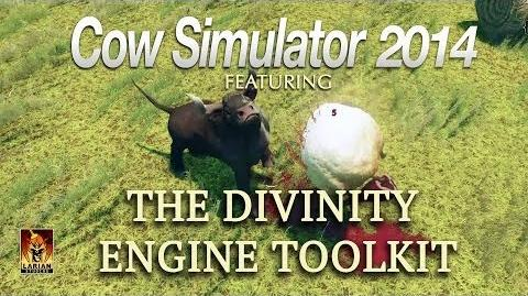 Cow Simulator 2014 Trailer Featuring the Divinity Engine Toolkit