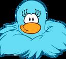 Blue Monster Diva Mask