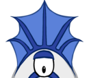 Blue Monster Head Fin