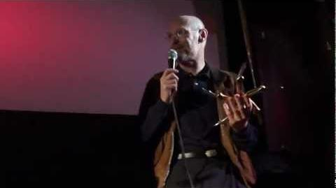 Ken Marshall holds The Glaive after 30 Years