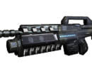 Gauss Assault Rifle Mounted Shotgun