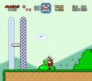 Pasar sobre la meta (Super Mario World)