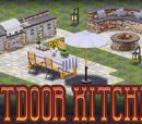 Outdoor Kitchen Decor Collection