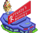 Krusty's One Plate Maximum Buffet