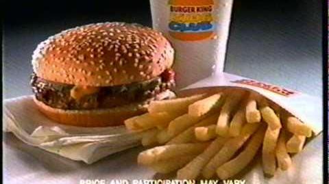 The Lion King (Burger King, 1994)