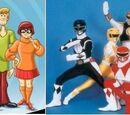 Scooby-Doo Meets The Power Rangers