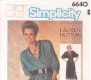 Simplicity 6640 A