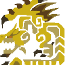 MH10th-Gold Rathian Icon.png