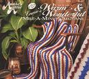 Annie's Attic 305A Annie's Crochet Warm & Wonderful Mile-A-Minute Afghans