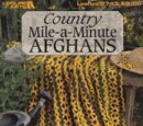 Leisure Arts 2743 Country Mile-A-Minute Afghans
