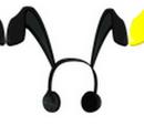 Robot Rabbit Rocker Headphones