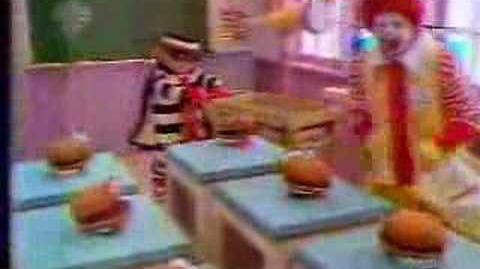 1980's McDonalds Hamburger University Commercial