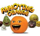 La naranja molesta