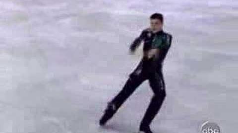 Brian Joubert 2004 Worlds The Matrix