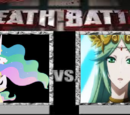Princess Celestia vs Palutena