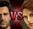 Nathan Drake vs. Lara Croft