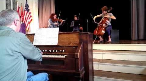 Buffalo Chamber Players rehearsing Dvořák Bagatelles, Op. 47