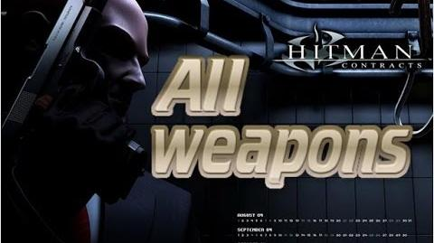 Hitman: Contracts weapons