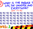 Question 42 (The Impossible Quiz)