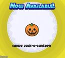 Candy Jack-O-Lantern